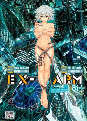 Visuel Ex-Arm - Psychic Weapon Crime Battle / EX-ARM-エクスアーム- Psychic Weapon Crime Battle (Seinen)
