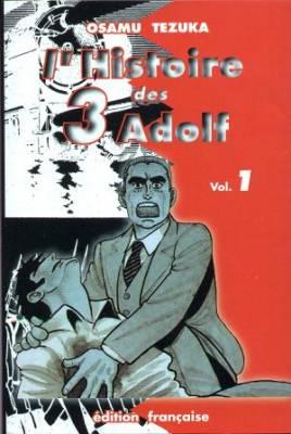 Visuel Histoire des 3 Adolph (L') / Adolf ni Tsugu (Seinen)