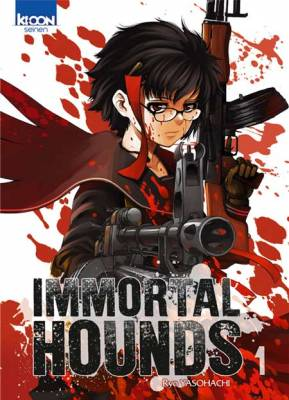 Visuel Immortal Hounds / Shinazu no Ryouken (不死の猟犬) (Seinen)