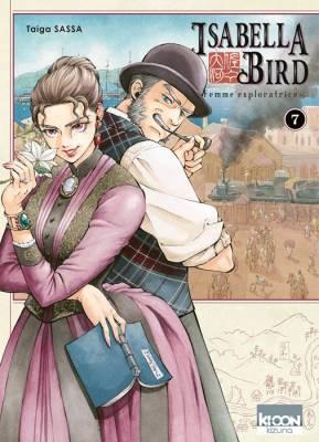 Visuel Isabella Bird, Femme exploratrice tome 7