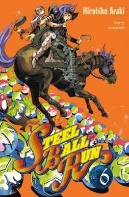 Visuel Steel Ball Run tome 6