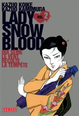 Visuel Lady Snowblood / Shurayukihime (Seinen)