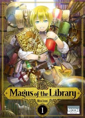 Visuel Magus of the Library / Toshokan no Daimajutsushi (圕の大魔術師) (Seinen)