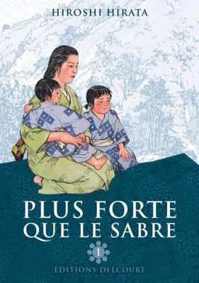 Visuel Plus forte que le sabre / Kairiki no Haha (怪力の母) (Seinen)