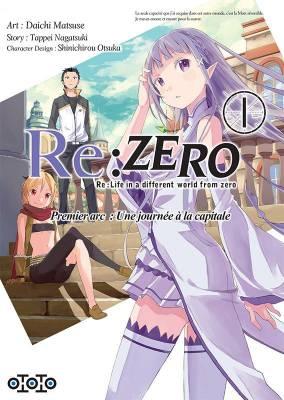 Visuel Re: Zero - Premier arc : une journée à la capitale / Re:ゼロから始める異世界生活 第一章 王都の一日編<br /> Re:Zero Kara Hajimeru Isekai Seikatsu (Seinen)
