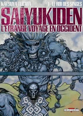 Visuel Saiyukiden : L'étrange voyage en occident / Saiyukiden : daienou (Seinen)