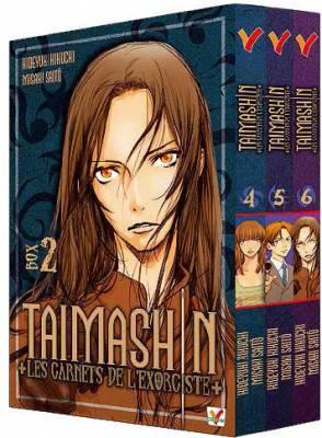 Visuel Taimashin+les carnets de l'exorciste+ / Masatsu Note Taimashin Mashin Taidohen (Seinen)