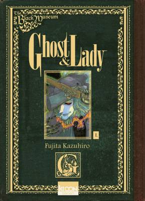 Visuel Black Museum (The) - Ghost & Lady / Kuro Hakubutsukan: Ghost and Lady (Seinen)