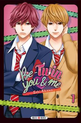 Visuel Be-Twin you & me / Yagami-kun wa Kyou mo Ijiwaru. (Shōjo)