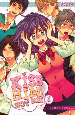 Visuel Kiss him, not me! / Watashi ga Motete Dousunda (私がモテてどうすんだ) (Shōjo)
