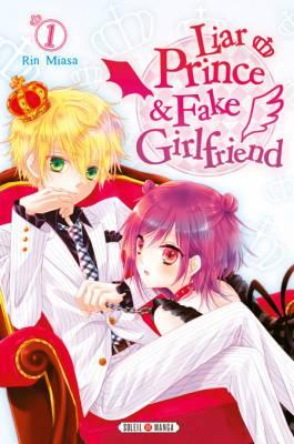 Visuel Liar Prince & Fake Girlfriend / Usotsuki Ouji to Nisemono Kanojo - The Liar Prince & His Fake Girlfriend (Shōjo)