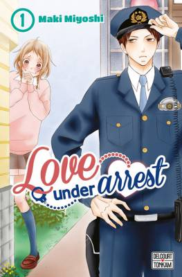 Visuel Love under arrest / P to JK (PとJK) (Shōjo)