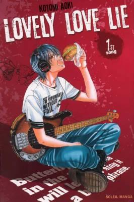 Visuel Lovely Love Lie / Kanojo wa uso wo aishisugiteru (Shōjo)