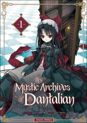 Visuel Mystic Archives of Dantalian (The) / Dantalian no Shoka - Bibliotheca Mystica de Dantalion (Shōnen)