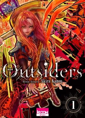 Visuel Outsiders / Outsiders (Shōjo)