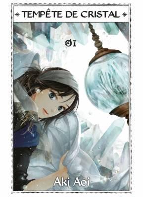Visuel Tempête de cristal / Kooru Sora, Sakou no Kuni (凍る空、砂鉱の国)–Freezing Sky & Placerland (Shōjo)