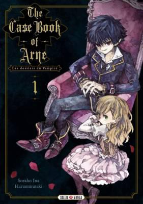 Visuel Case Book of Arne (The) –Les dossiers du Vampire / アルネの事件簿 (Arne no Jiken-bo)/The Case Book of Arne (Shōjo)