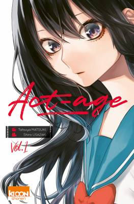 Visuel Act-age / アクタージュ - act-age (Shōnen)