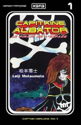 Visuel Capitaine Albator, le pirate de l'espace / Uchu Kaizoku Captain Harlock (Shōnen)