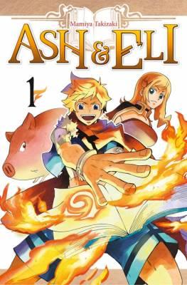 Visuel Ash & Eli / Ash & Eli (Shōnen)