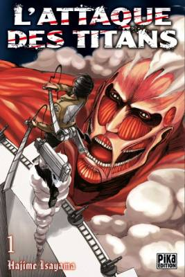 Visuel Attaque des Titans (L') / Shingeki no Kyojin - Attack on Titan (進撃の巨人) (Shōnen)