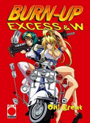 Visuel Burn-up Excess & W / Burn-up Excess & W (Shōnen)
