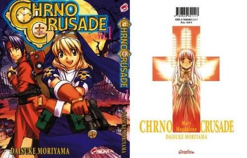 Visuel Chrno Crusade / Chrno Mary Magdalene Crusade (Shōnen)