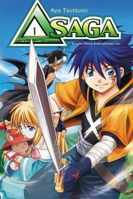Visuel Δ Saga / Emil Chronique Online Gaiden Delta Saga (Shōnen)