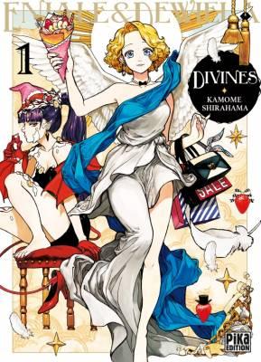 Visuel Divines / Enidewi - Eniale & Dewiel (エニデヴィ) (Seinen)