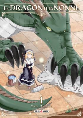 Visuel Dragon et la Nonne (Le) / Mamono-tachi wa Katazukerarenai (魔物たちは片付けられない) (Shōnen)