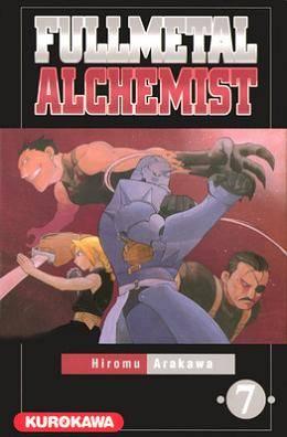 Visuel Fullmetal Alchemist tome 7