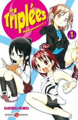 Visuel Triplées (Les) - Délire puissance 3 ! / Mitsudomoe (みつどもえ) (Shōnen)
