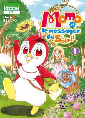 Visuel Momo et le messager du Soleil / Momo et le messager du Soleil (Shōnen)