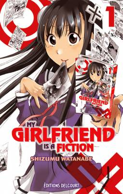 Visuel My Girlfriend is a Fiction / Kono Kanojo wa Fiction Desu. (この彼女はフィクションで) (Shōnen)