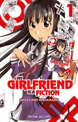 Visuel My Girlfriend is a Fiction / Kono Kanojo wa Fiction Desu. (この彼女はフィクションで) (Shōnen)