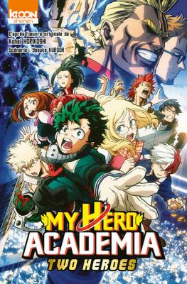 Visuel My Hero Academia: Two Heroes / Gekijō-ban Anime comics Boku no Hero Academia the Movie –Futari no Hero– Anime Comics (劇場版アニメコミックス「僕のヒーローアカデミア THE MOVIE ~2人の英雄~」) (Shōnen)