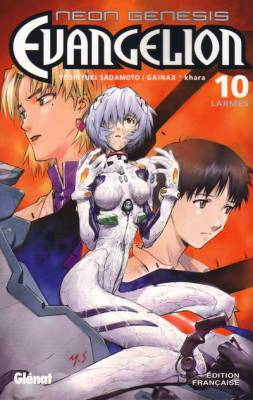 Visuel Neon Genesis Evangelion tome 10