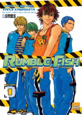 Visuel Rumble Fish / Rumble Fish (Shōnen)