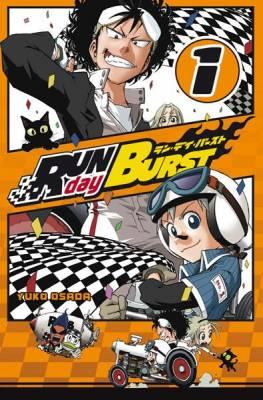 Visuel RUN day BURST / RUN day BURST (Shōnen)