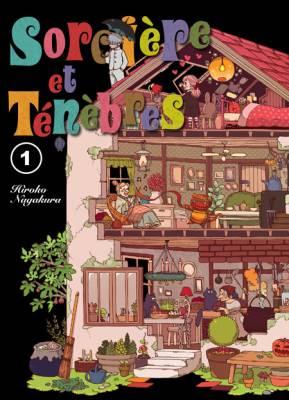Visuel Sorcières et Ténèbres / Yami ni Koishita Hitsuji-chan (闇に恋したひつじちゃん) (Shōnen)