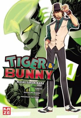 Visuel Tiger & Bunny / Tiger & Bunny (タイガー&バニー) (Shōnen)