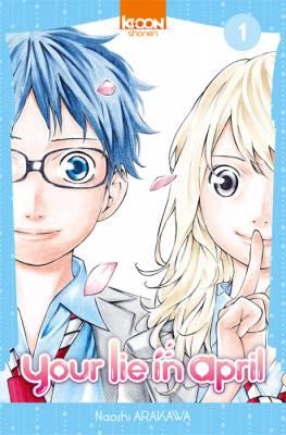 Visuel your lie in april / Shigatsu wa Kimi no Uso (四月は君の嘘) (Shōnen)