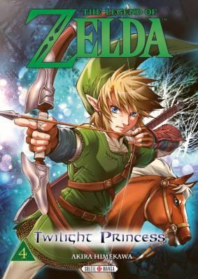 Visuel Zelda (the Legend of) – Twilight Princess tome 4