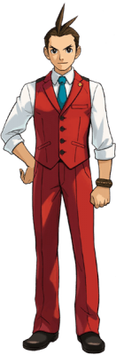 Visuel Apollo Justice - Nom original: Odoroki Housuke (Phoenix Wright: Ace Attorney)