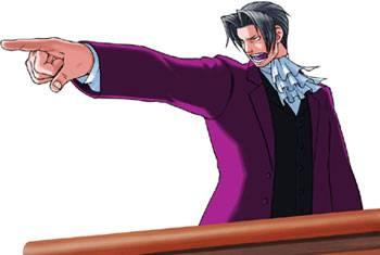 Visuel Benjamin Hunter - Nom original: Reiji Mitsurugi (Phoenix Wright: Ace Attorney)