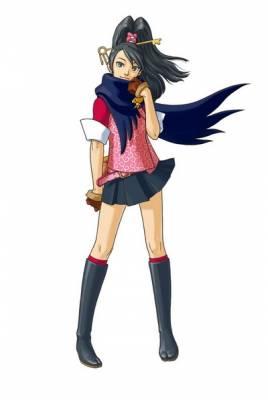 Visuel Kay Faraday - Nom original: Ichijou Mikumo (Phoenix Wright: Ace Attorney)