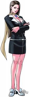 Visuel Mia Fey - Nom original: Chihiro Ayasato (Phoenix Wright: Ace Attorney)
