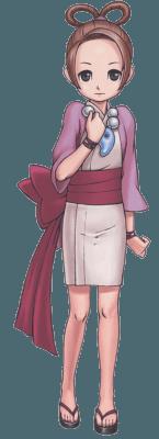 Visuel Pearl Fey - Nom original: Harumi Ayasato (Phoenix Wright: Ace Attorney)