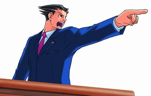 Visuel Phoenix Wright - Nom original: Naruhodō Ryūichi (Phoenix Wright: Ace Attorney)