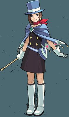Visuel Vérité Wright - Nom original: Naruhodou Minuki (Phoenix Wright: Ace Attorney)